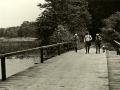 1940 circa Most Wilhelma z mysliwymi
