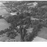 1942 lotnicze na młyn,pałac,wieś LvK