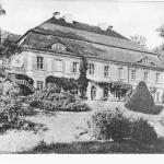 Pocztówki Pałac 1938 z bliska od LvK