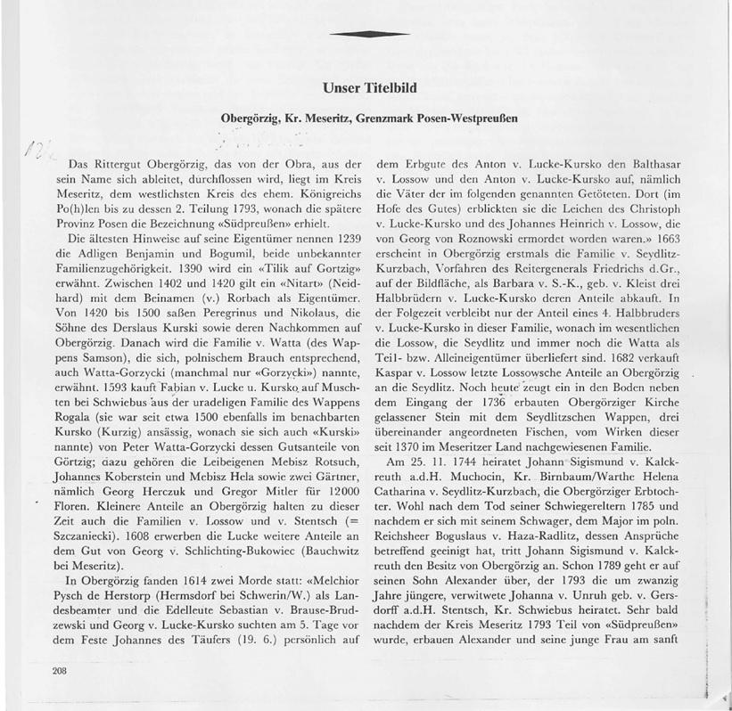 Page 1- Titelbild